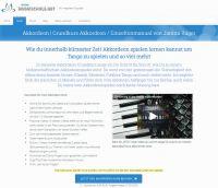 www.meineMusikschule.net startet mit einem neuen Videokurs für Akkordeon