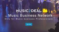 Neues Update von Music2Deal, dem Musik Business Netzwerk