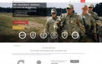 Soldaten schließen ihre Versicherungen am liebsten online ab