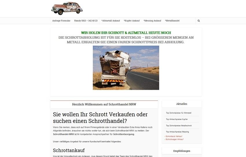 Schrotthandel Bochum kümmert sich um ihre Schätze
