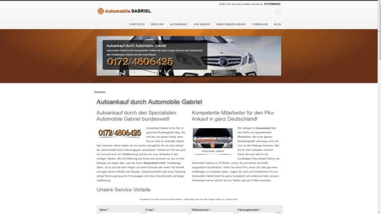 Auto verkaufen – am besten bei Automobile Gabriel: Sicher und seriös.