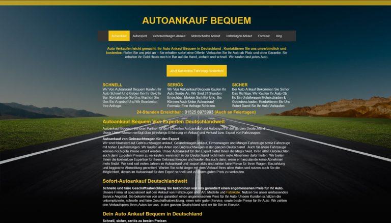 Autoankauf Bequem bietet in Öllingen und Umgebung best Preise für ihr altes gebrauchtes Fahrzeug