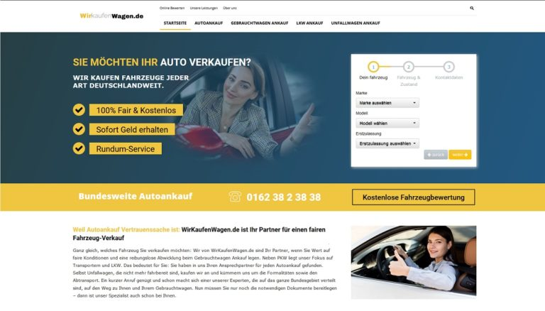 Autoankauf Kiel kauft Gebrauchtwagen aller Art