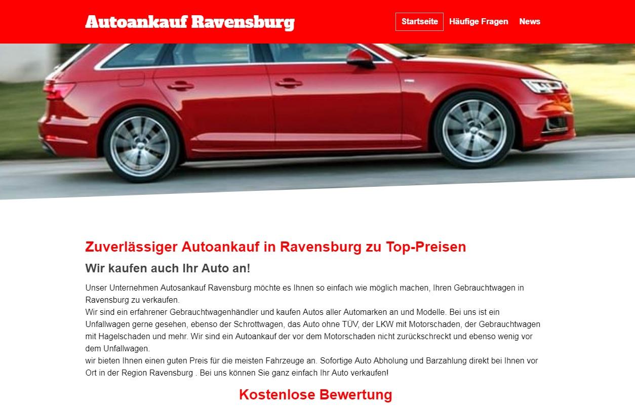 Autoankauf Ravensburg