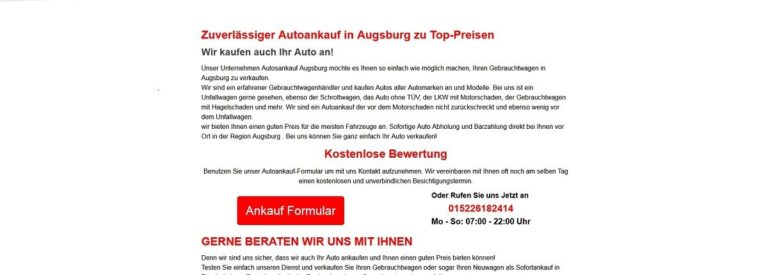 Autoankauf Reutlingen kauft Autos zum best Preis