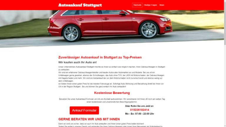Autoankauf Stuttgart Gebrauchtwagen Autoexport & Unfallwagen