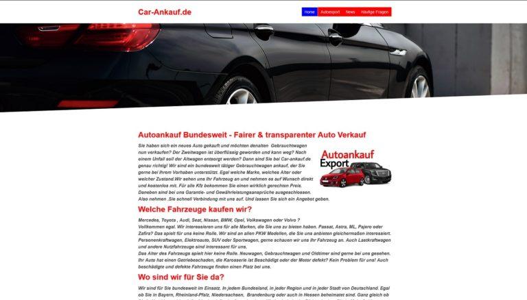 Das Team von Autoankauf Würzburg nimmt sich Ihrem Fahrzeug mit Fachkompetenz an, wird es vor Ort begutachten und Ihnen einen realistischen Preis nennen
