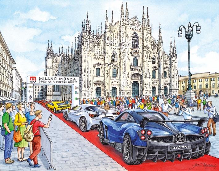 MILANO MONZA OPEN-AIR SHOW – Revolutionäres Messekonzept für Fans und Familien in einer einzigartigen Kulisse