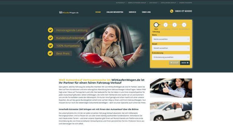 PKW-Ankauf in Essen | wirkaufenwagen.de