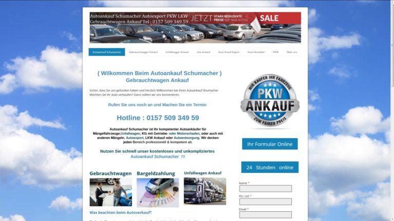 Unkomplizierter Autoankauf in Kassel   von AutoAnkauf Schumacher.de