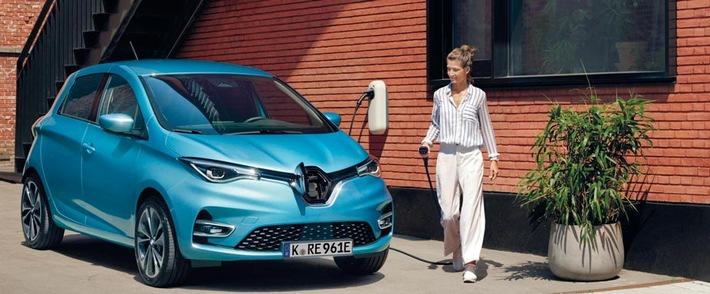 ADAC SE bietet Privatleasing für neuen Renault Zoe