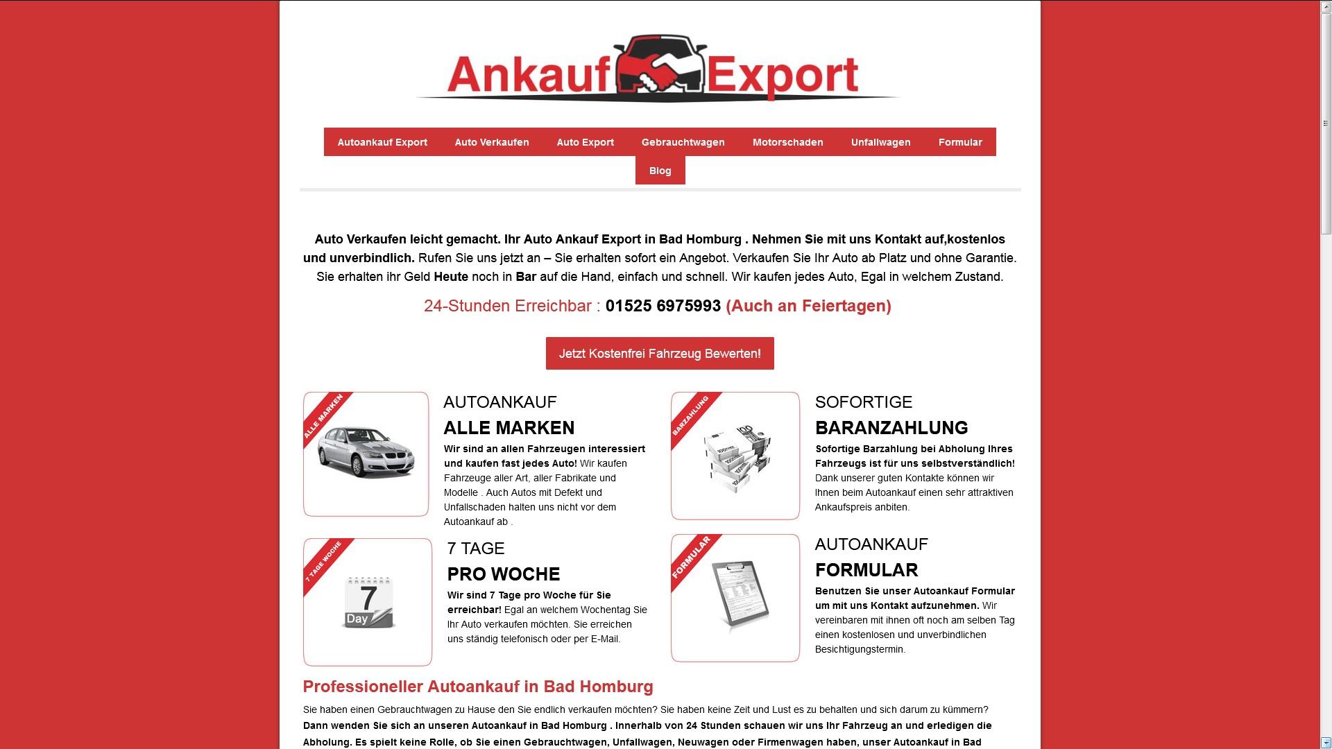Autoankauf Duisburg