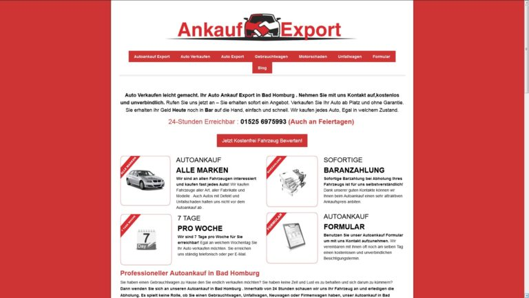 Autoankauf Norderstedt – Kauft dein Wagen zum Best Preis