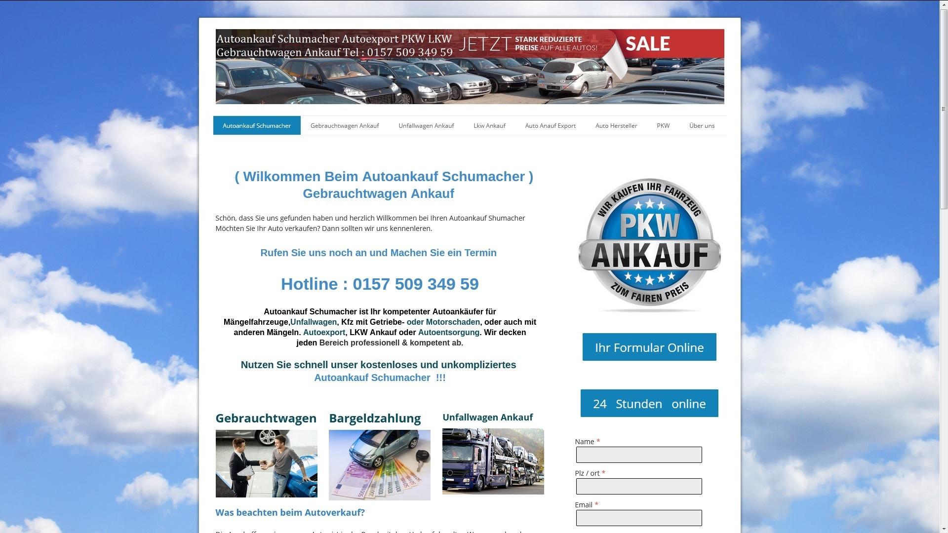 https://www.autoankauf-schumacher.de - Autoankauf Ravensburg