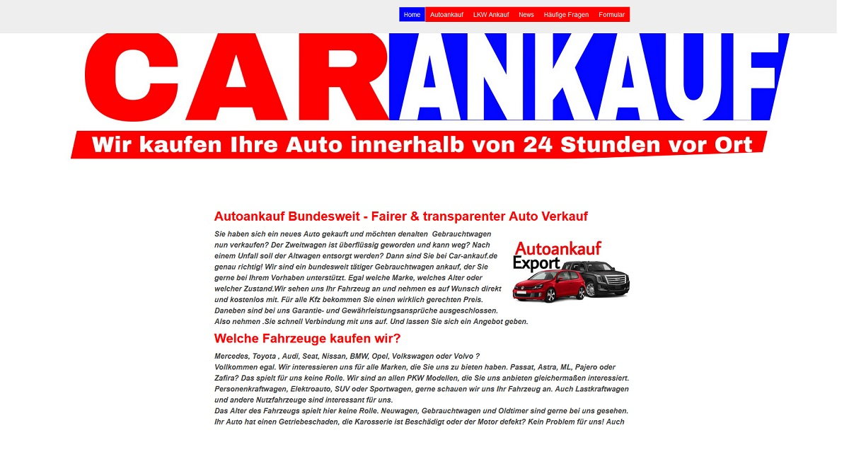 Autoankauf Viernheim | Kompetente und schnelle Abwicklung Ankauf von PKWs Viernheim