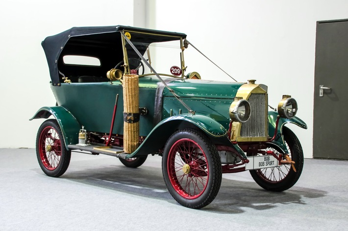 Die wilden Zwanziger – Sonderschau zeigt einzige verbliebene Exemplare aus der Blütezeit des Berliner Automobilbau