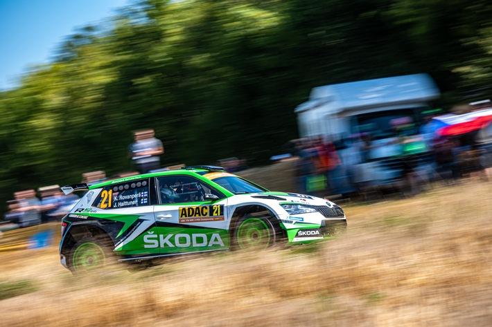 Rallye Spanien: Rovanperä und Kopecky visieren für SKODA