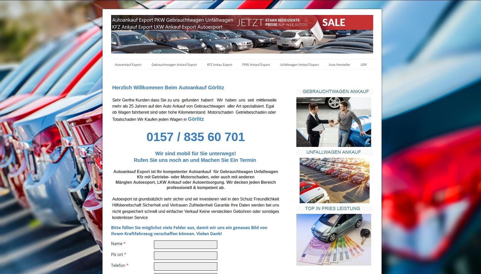 auto-ankauf-export.de - Autoankauf Böblingen