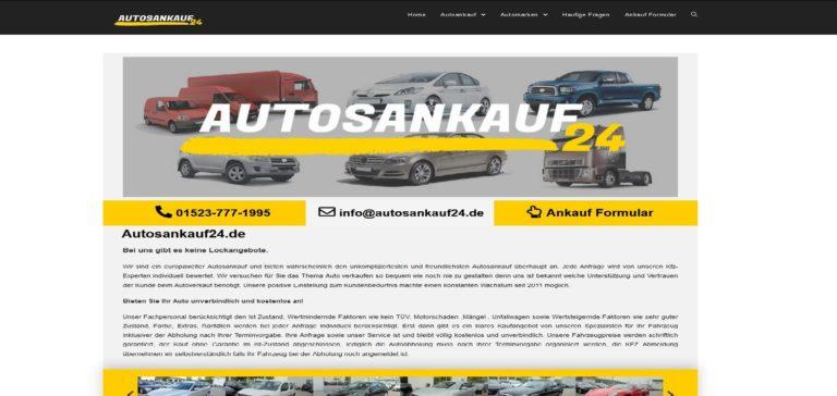 Autoankauf Frankfurt am Main und Umgebung bei Autosankauf24.de