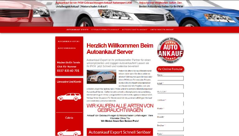 Autoankauf Goslar kauft jegliche Art von Mängelfahrzeuge an