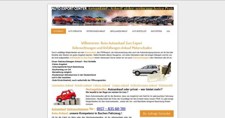 Autoankauf Wilhelmshaven kompetenz in Sachen Autoankauf