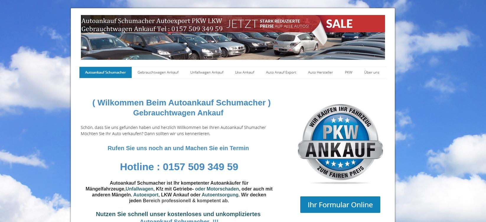 Autoankauf Lüdenscheid