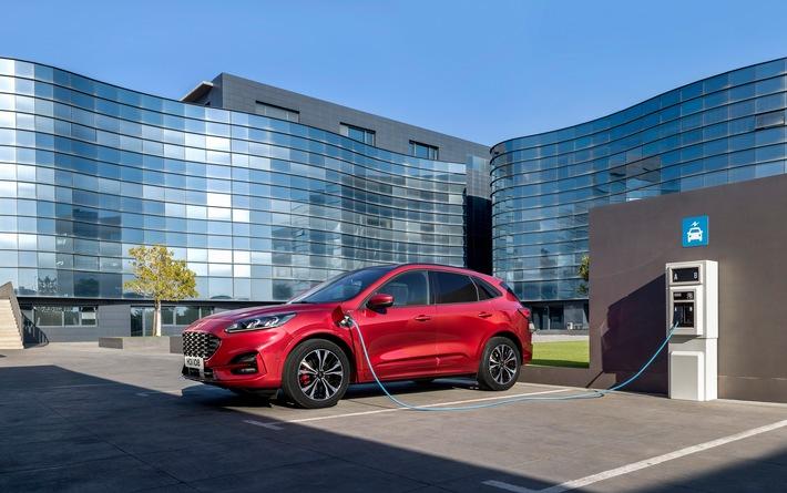 Neue Ford Business-Kampagne für Gewerbekunden: Bis zu 7.000 Euro Hybrid-Bonus und Null-Prozent-Finanzierung