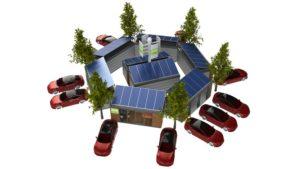 Norddeutsches Unternehmen stellt einzigartiges mobiles Hybrid E-Tankstellen System für Elektrofahrzeuge vor