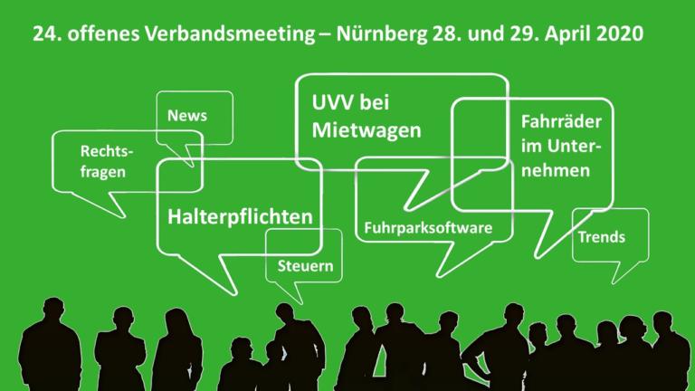 Fuhrparkverband: Frühjahrs-Treffen in Nürnberg