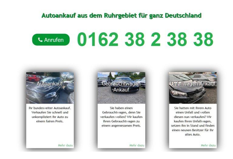 Autoankauf Bochum >Auto verkaufen Bochum Fair & Seriös