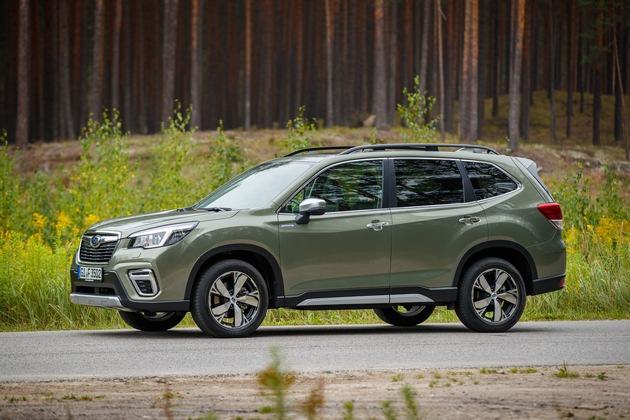 Neuer Subaru Forester e-Boxer ist sicherstes Fahrzeug seiner Klasse