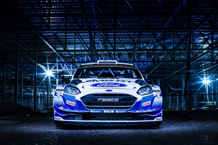 Fiesta WRC von M-Sport Ford starten mit spektakulärem neuem Design