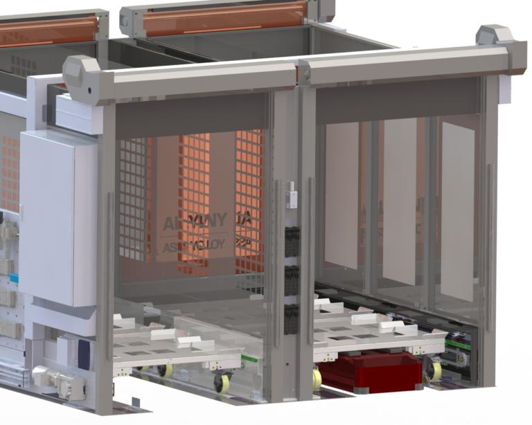 Metallverarbeiter CSP liefert Sicherheitsschleusen für vollautomatische E-Autofabrik der Zukunft