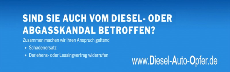 Abgasskandal – Autoskandal – Dieselskandal