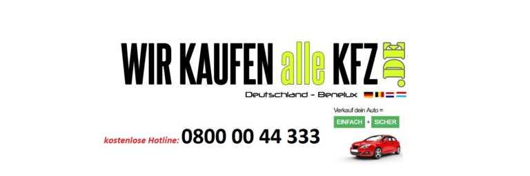Autoverkauf in Aachen Die Vorteile von Wir-kaufen-alle-KFZ.de