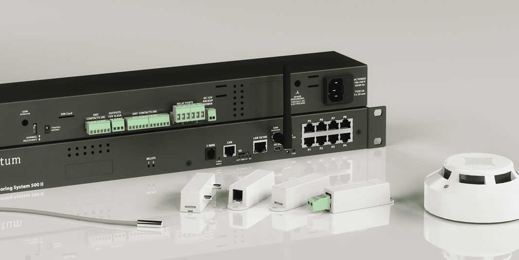 Fernüberwachung wichtiger Systeme und Anlagen