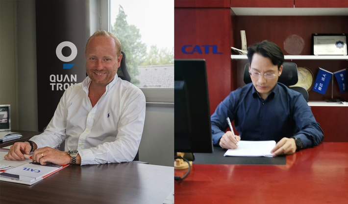 Quantron AG wird Importeur von CATL in Europa