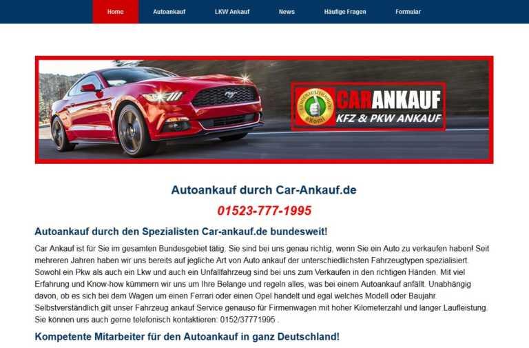 Autoankauf Sindelfingen kauft jeden Gebrauchtwagen an car-ankauf.de