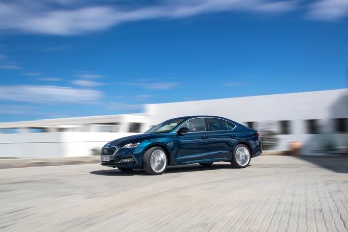 Die neue SKODA OCTAVIA Limousine – geräumig, praktisch und elegant wie ein Coupé