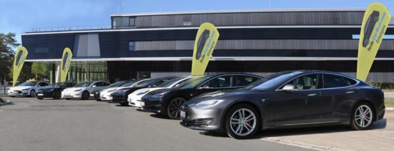 Tesla-Car-Rent hat seinen Fuhrpark um ein Model 3 SR+ erweitert