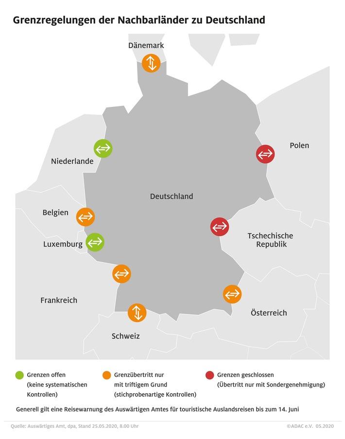 Reiseverkehr nimmt an Pfingsten Fahrt auf / ADAC Stauprognose für 29. Mai bis 1. Juni
