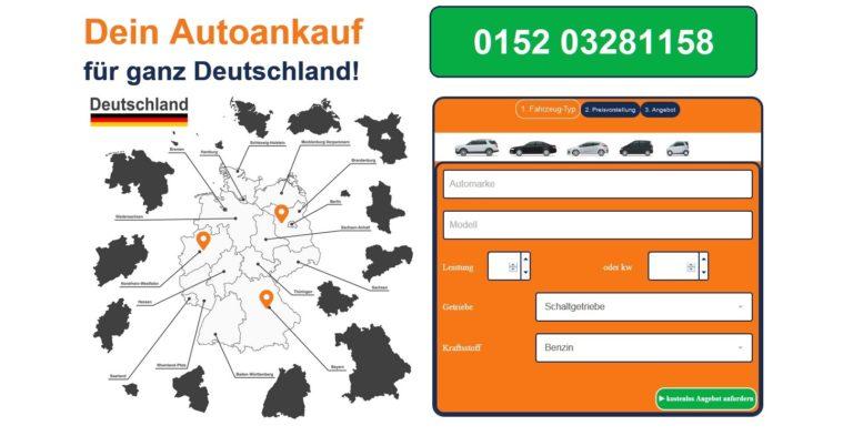 Der Gebrauchtwagen Ankauf Butzbach ist auf den Export von Altwagen mit und ohne Schäden spezialisiert. Er kauft im gesamten Stadtgebiet von Butzbach Autos für den Export auf