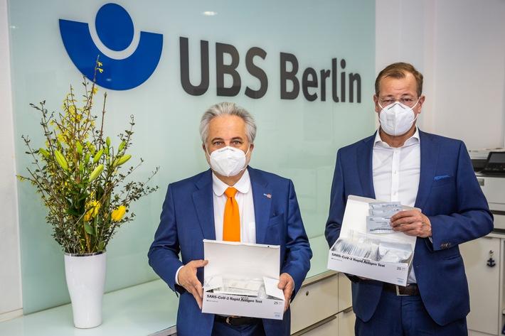 Baugewerbe testet – gemeinsam mit der BG BAU / Gemeinsame Pressemitteilung Deutsches Baugewerbe und BG BAU