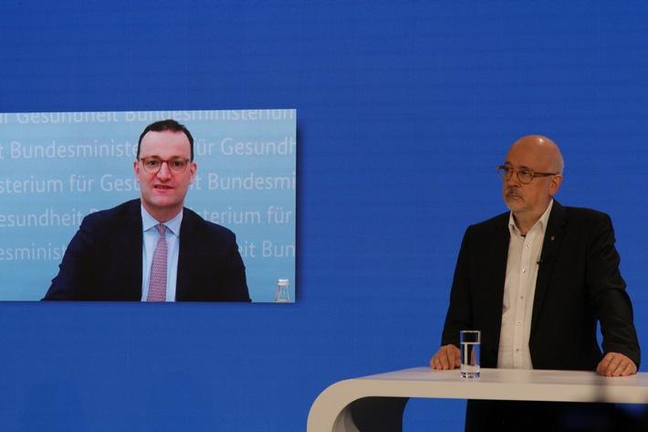 Bekenntnis zur Freiberuflichkeit – Bundesgesundheitsminister Spahn auf dem SpiFa-Fachärztetag 2021
