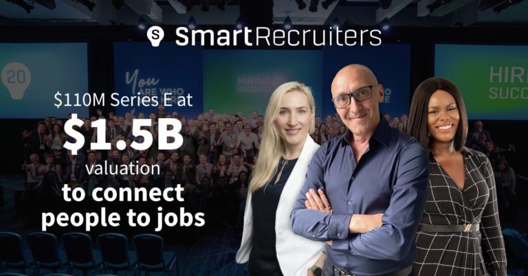 110 Millionen USD Finanzierung, mit 1,5 Milliarden USD bewertet – SmartRecruiters optimiert die Personalbeschaffung in Unternehmen