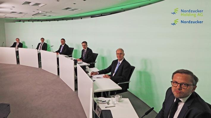 Gemeinsame Hauptversammlung der Nordzucker AG und der Nordzucker Holding AG bestätigt den Unternehmenskurs